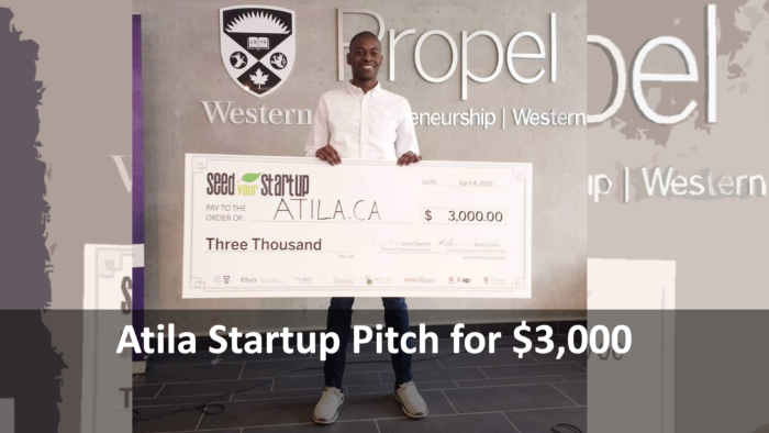 Atila Startup Pitch that Won $3,000