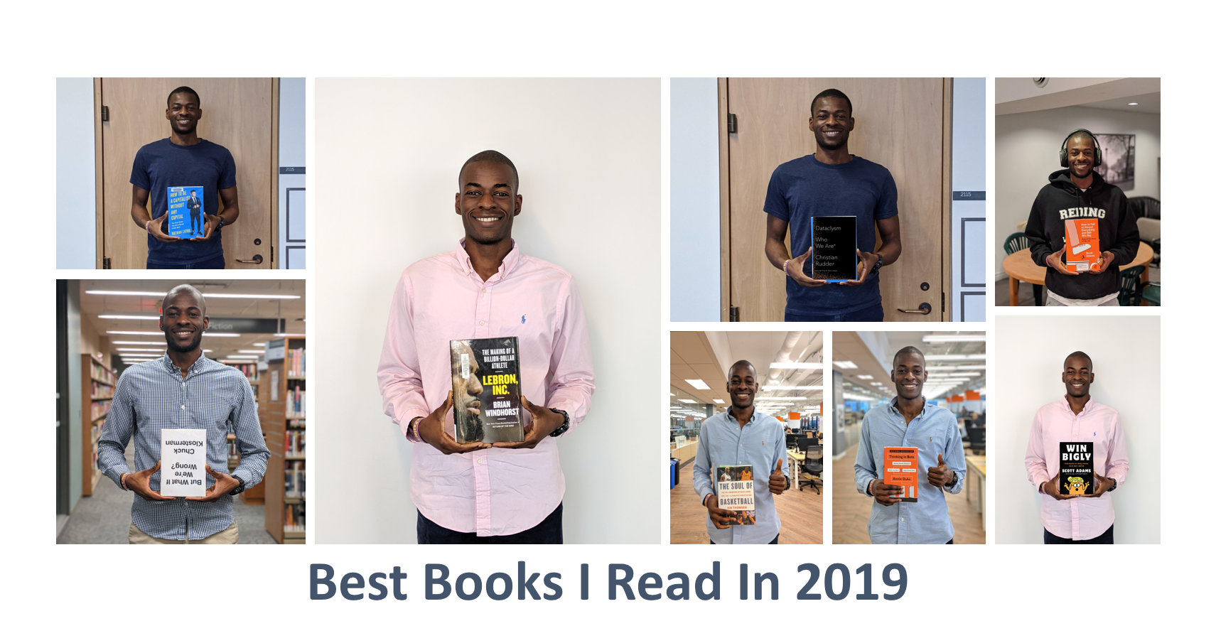 Best Books I Read in 2019